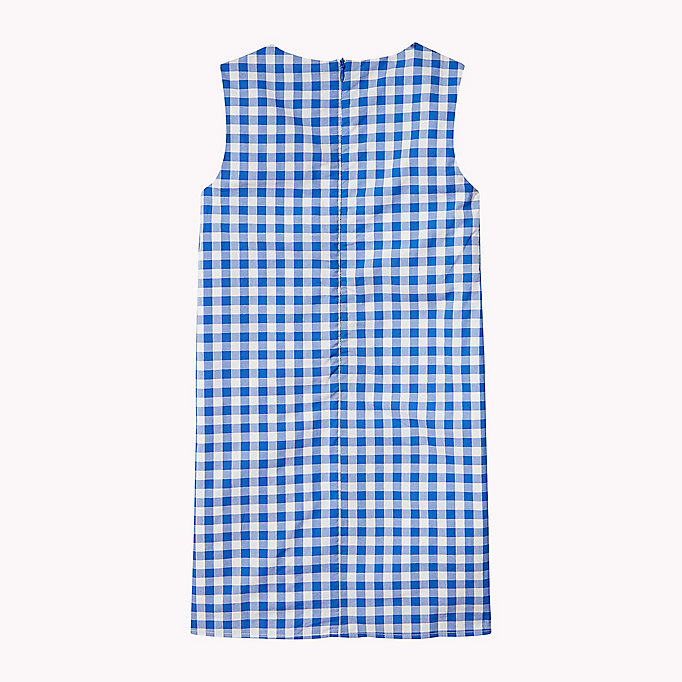 TOMMY HILFIGER Gingham Ruffle Dress - TOMMY BLACK - TOMMY HILFIGER Kids - detail image 1