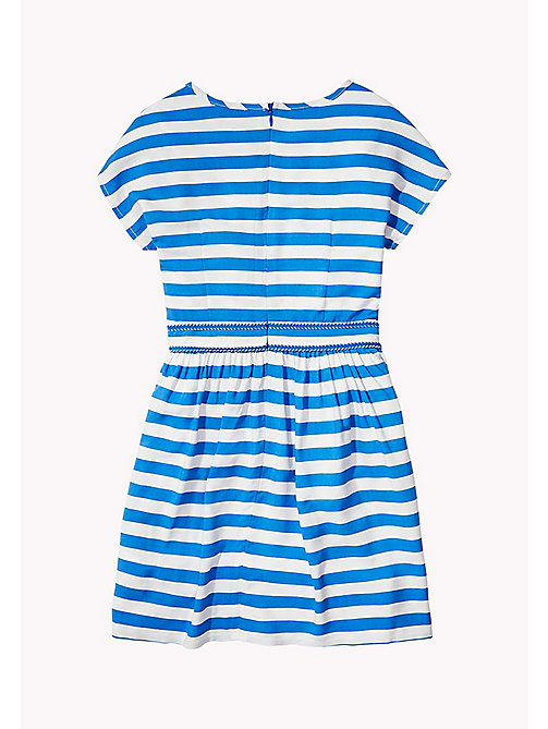 TOMMY HILFIGER Casual Stripe Dress - NAUTICAL BLUE - TOMMY HILFIGER Girls - detail image 1