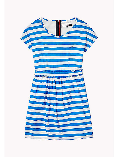 TOMMY HILFIGER Casual Stripe Dress - NAUTICAL BLUE - TOMMY HILFIGER Girls - main image