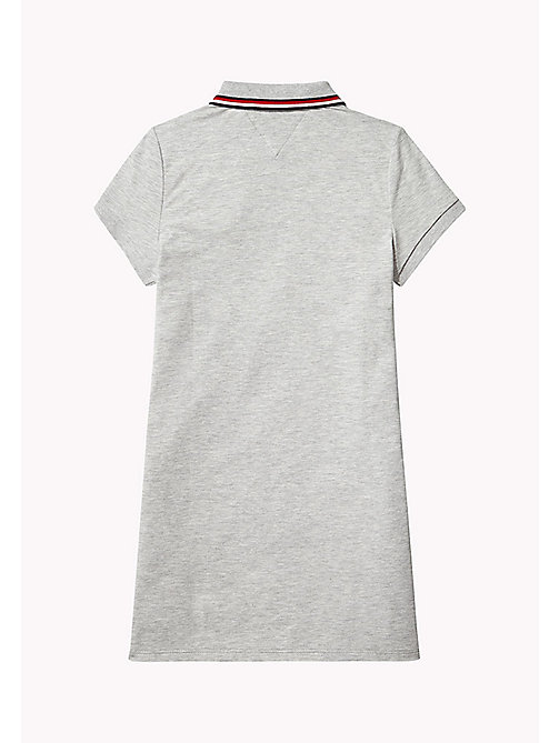TOMMY HILFIGER Платье с воротником-поло - LIGHT GREY HTR - TOMMY HILFIGER платья - подробное изображение 1