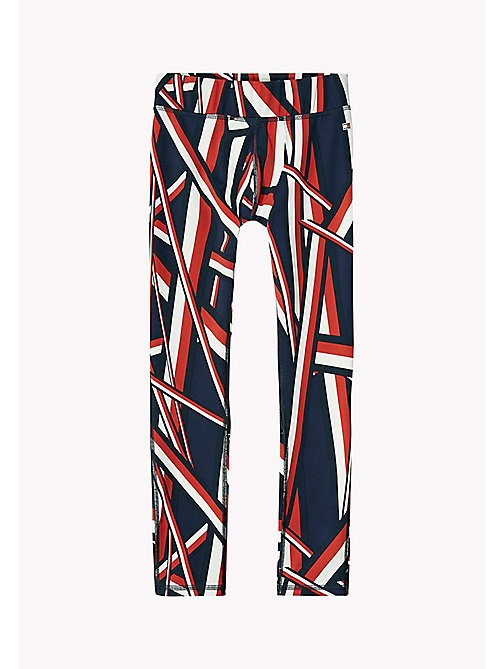 SC GLOBAL STRIPE TIGHTS - MIDNIGHT - TOMMY HILFIGER Mädchen - main image