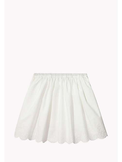 TOMMY HILFIGER Drawstring Skirt - BRIGHT WHITE - TOMMY HILFIGER Girls - detail image 1