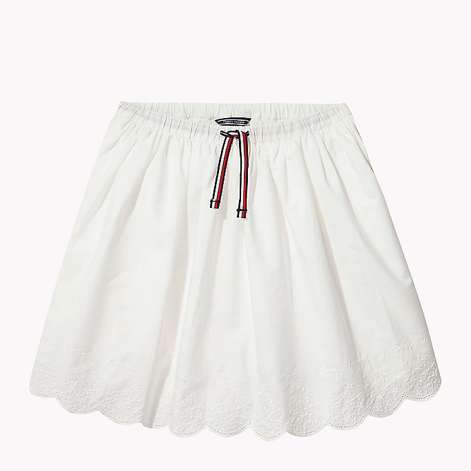 TOMMY HILFIGER Drawstring Skirt - BRIGHT COBALT - TOMMY HILFIGER Kids - main image
