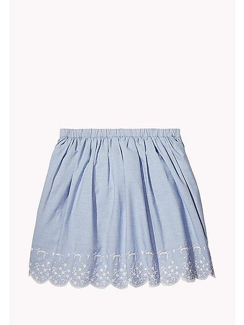 TOMMY HILFIGER Drawstring Skirt - BRIGHT COBALT - TOMMY HILFIGER Girls - detail image 1