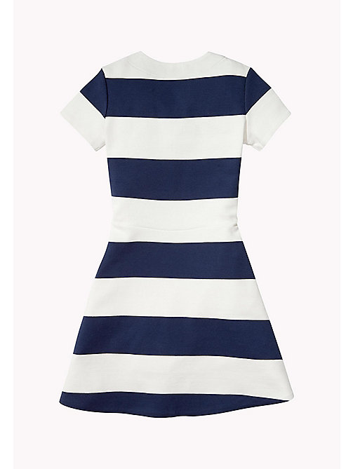 TOMMY HILFIGER Block Stripe Dress - BLACK IRIS - TOMMY HILFIGER Girls - detail image 1