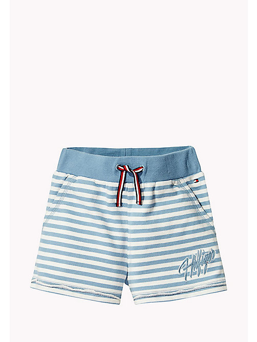 TOMMY HILFIGER Stripe Shorts - ALLURE - TOMMY HILFIGER Girls - main image