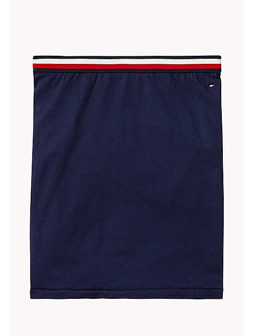 TOMMY HILFIGER Jersey Knit Logo Skirt - BLACK IRIS - TOMMY HILFIGER Trousers, Shorts & Skirts - detail image 1