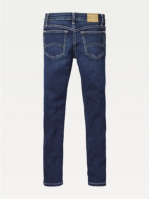 TOMMY HILFIGER Dark Wash Skinny Jeans - NEW YORK DARK STRETCH - TOMMY HILFIGER Jeans - detail image 1