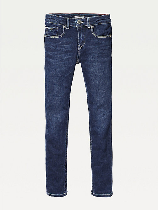 TOMMY HILFIGER Dark Wash Skinny Jeans - NEW YORK DARK STRETCH - TOMMY HILFIGER Jeans - main image