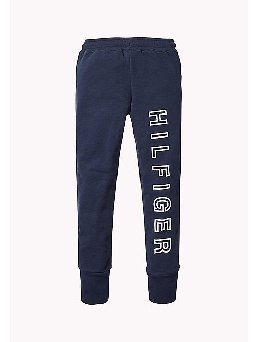 TOMMY HILFIGER Logo Joggers - BLACK IRIS - TOMMY HILFIGER Trousers, Shorts & Skirts - detail image 1