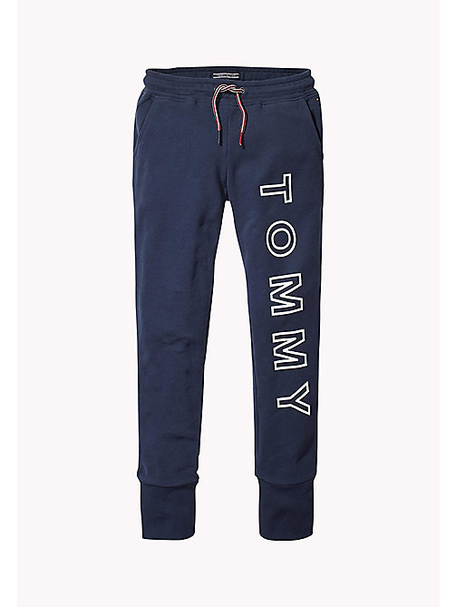 TOMMY HILFIGER Logo Joggers - BLACK IRIS - TOMMY HILFIGER Trousers, Shorts & Skirts - main image