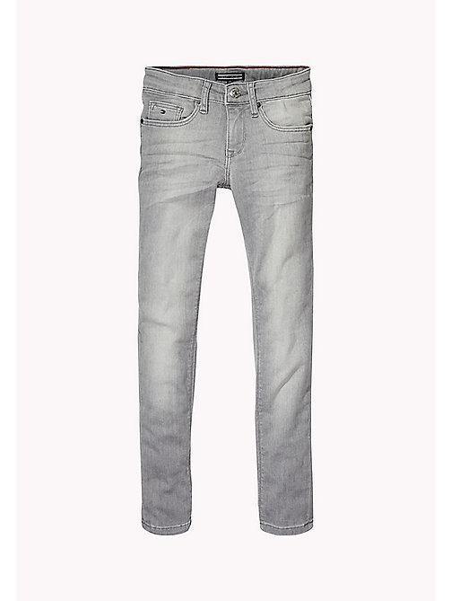 TOMMY HILFIGER Skinny Ankle Jeans - COLORADO GREY SOFT STRETCH - TOMMY HILFIGER Girls - main image