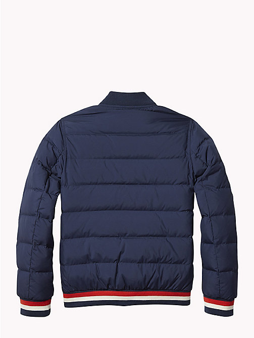 TOMMY HILFIGER Reversible Quilted Down Jacket - BLACK IRIS -  Coats & Jackets - detail image 1