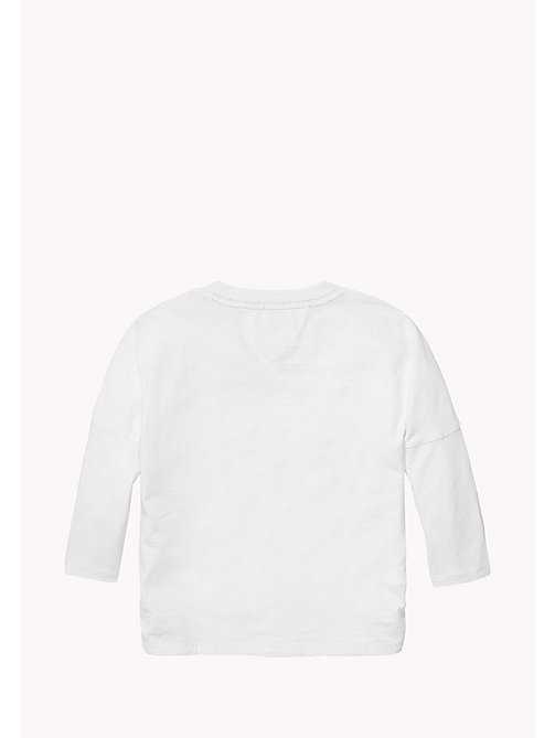 TOMMY HILFIGER Oversized Fit Desert Photo Print Top - BRIGHT WHITE - TOMMY HILFIGER Tops & T-shirts - detail image 1