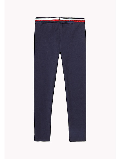TOMMY HILFIGER Stretch Leggings - BLACK IRIS - TOMMY HILFIGER Trousers, Shorts & Skirts - detail image 1