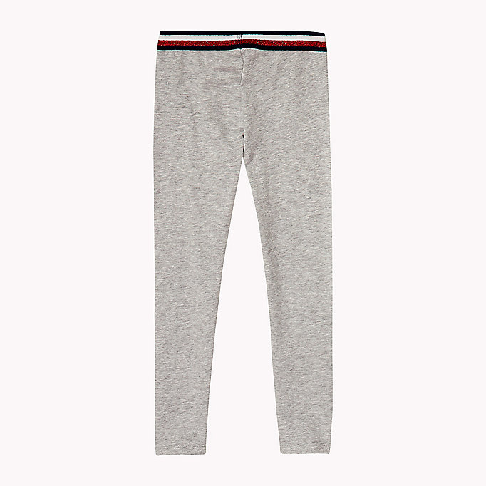 TOMMY HILFIGER Stretch Leggings - BLACK IRIS - TOMMY HILFIGER Kids - detail image 1