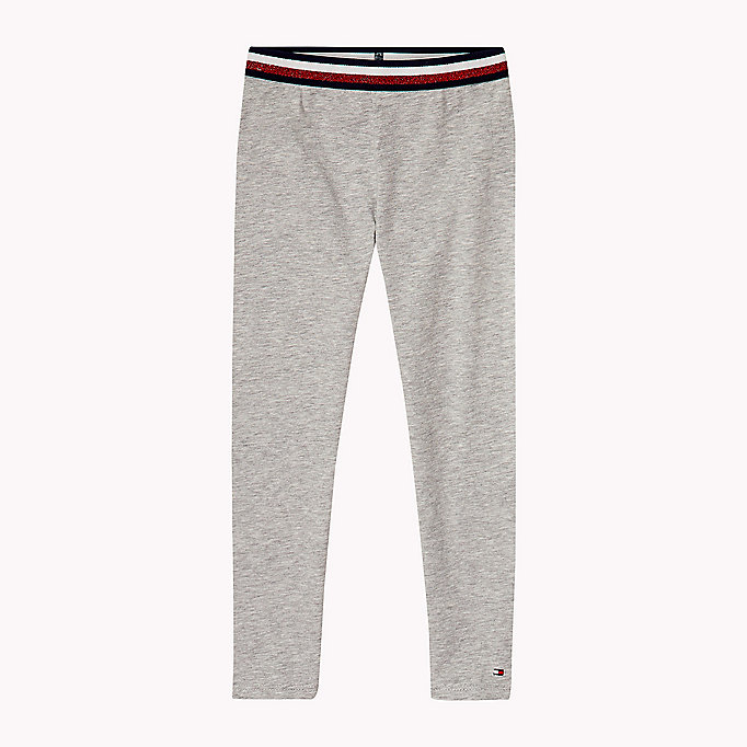 TOMMY HILFIGER Stretch Leggings - BLACK IRIS - TOMMY HILFIGER Kids - main image