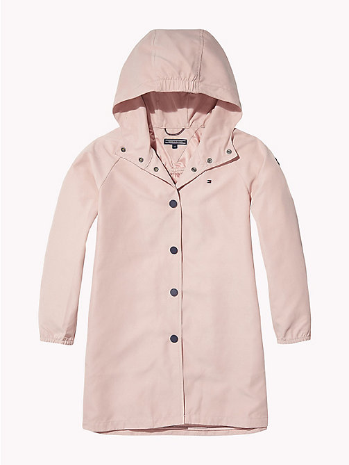 TOMMY HILFIGER Hooded Parka Jacket - BRIDAL ROSE - TOMMY HILFIGER Coats & Jackets - detail image 1