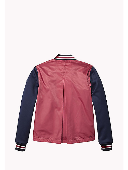 TOMMY HILFIGER Bomber Jacket - RASPBERRY WINE -  Coats & Jackets - detail image 1