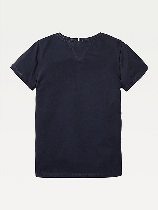 TOMMY HILFIGER Organic Cotton T-Shirt - SKY CAPTAIN - TOMMY HILFIGER Tops & T-shirts - detail image 1