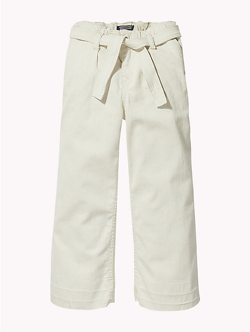 TOMMY HILFIGER Cropped Martha Trousers - GOLDY STRETCH - TOMMY HILFIGER Jeans - detail image 1