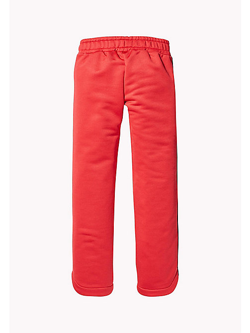 TOMMY HILFIGER KIDS SPORTS BENNI TRACK PANT - HAUTE RED - TOMMY HILFIGER Sports Capsule - dettaglio immagine 1