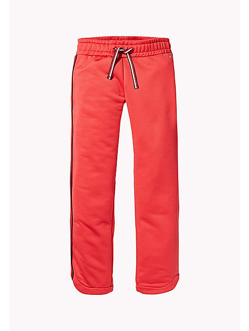 TOMMY HILFIGER KIDS SPORTS BENNI TRACK PANT - HAUTE RED - TOMMY HILFIGER Sports Capsule - main image