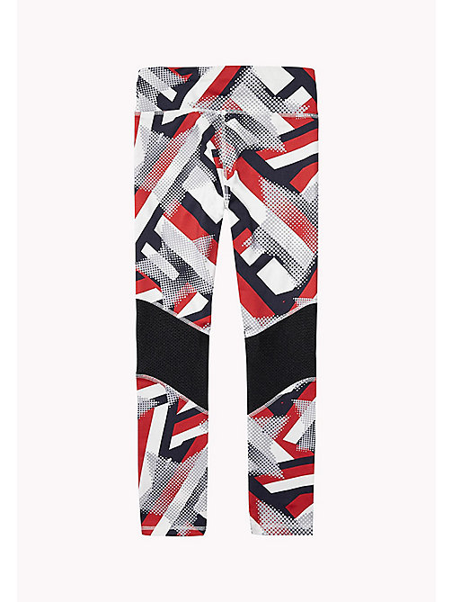 TOMMY HILFIGER KIDS SPORTS BELITA PRINT LONG LEGGING - SKY CAPTAIN / MULTI - TOMMY HILFIGER Sports Capsule - detail image 1
