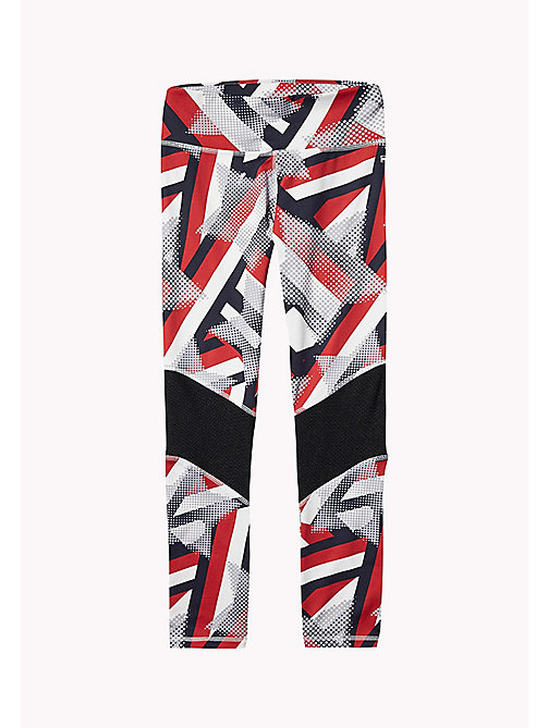 TOMMY HILFIGER KIDS SPORTS BELITA PRINT LONG LEGGING - SKY CAPTAIN/MULTI - TOMMY HILFIGER Sports Capsule - main image