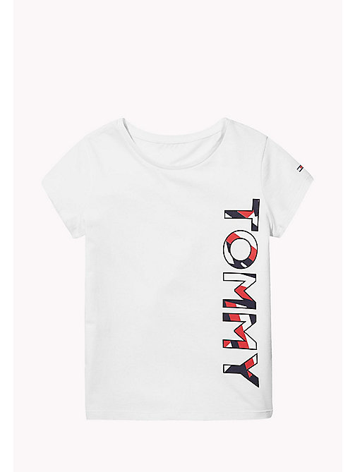 TOMMY HILFIGER KIDS SPORTS BERYL C-NK TEE S/S - CLASSIC WHITE - TOMMY HILFIGER Sports Capsule - главное изображение