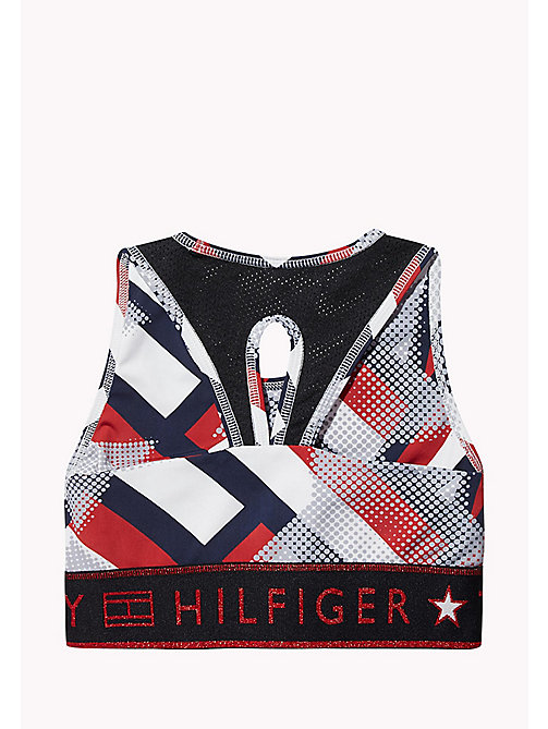 TOMMY HILFIGER KIDS SPORTS BELITA PRT BRA TOP - SKY CAPTAIN/MULTI - TOMMY HILFIGER Sports Capsule - detail image 1