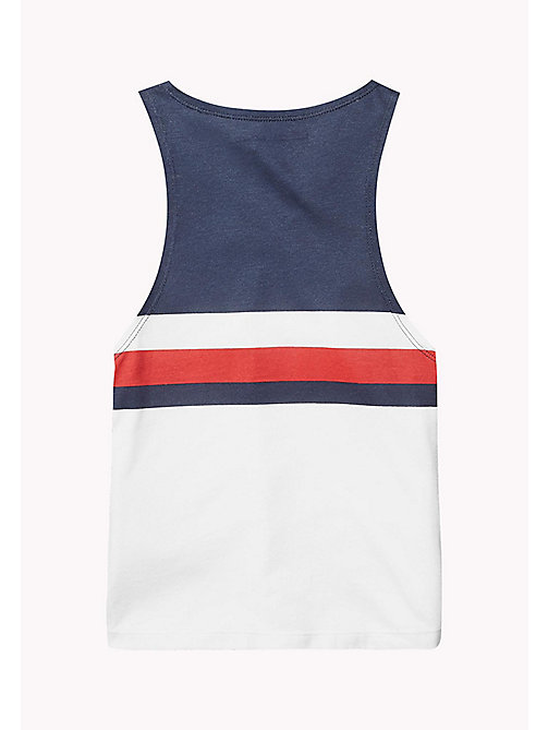 TOMMY HILFIGER KIDS SPORTS CHERI TANK TOP - CLASSIC WHITE / MULTI - TOMMY HILFIGER Sports Capsule - detail image 1