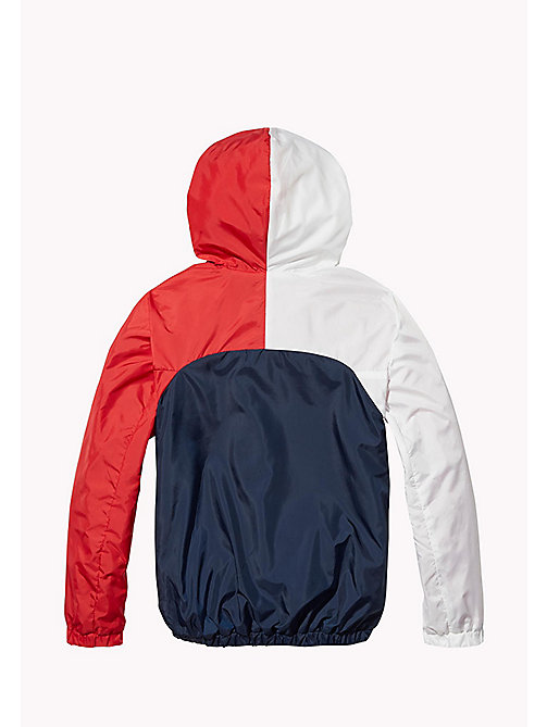 TOMMY HILFIGER KIDS SPORTS WINDBREAKER - SKY CAPTAIN / MULTI - TOMMY HILFIGER Sports Capsule - detail image 1