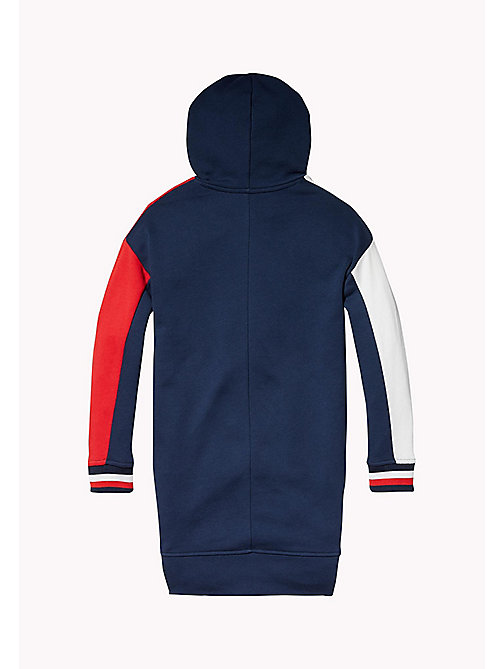 TOMMY HILFIGER KIDS SPORTS BEKKI CLR BLOCK DRESS - SKY CAPTAIN / MULTI - TOMMY HILFIGER Sports Capsule - detail image 1