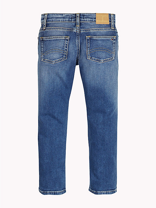 Cropped Straight Fit Jeans - NEW YORK MID STRETCH - TOMMY HILFIGER Jeans - detail image 1