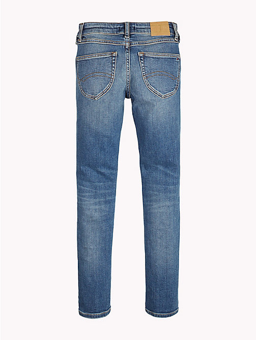 TOMMY HILFIGER Sophie Skinny Jeans - AUTHENTIC DUSTY BLUE STRETCH - TOMMY HILFIGER Jeans - detail image 1