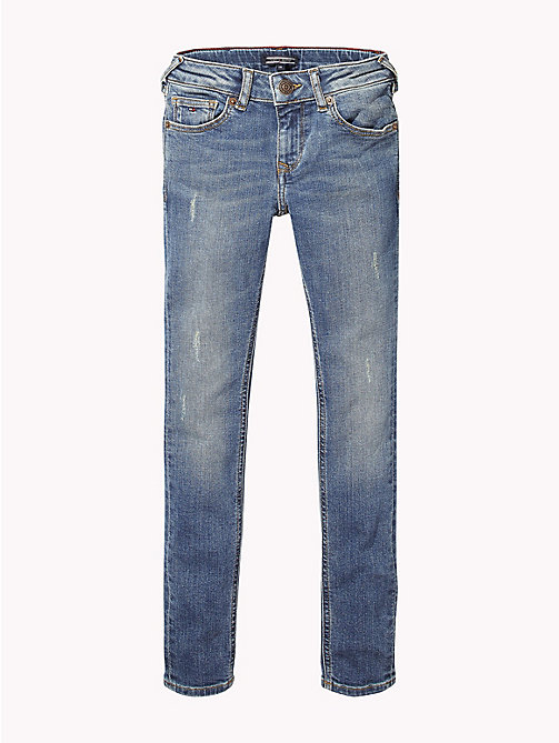 TOMMY HILFIGER Sophie Skinny Jeans - AUTHENTIC DUSTY BLUE STRETCH - TOMMY HILFIGER Jeans - main image