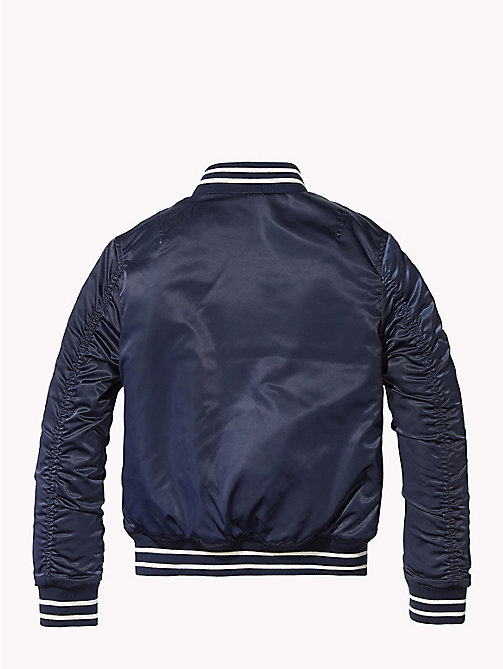 TOMMY HILFIGER Reversible Bomber Jacket - BLACK IRIS -  Coats & Jackets - detail image 1