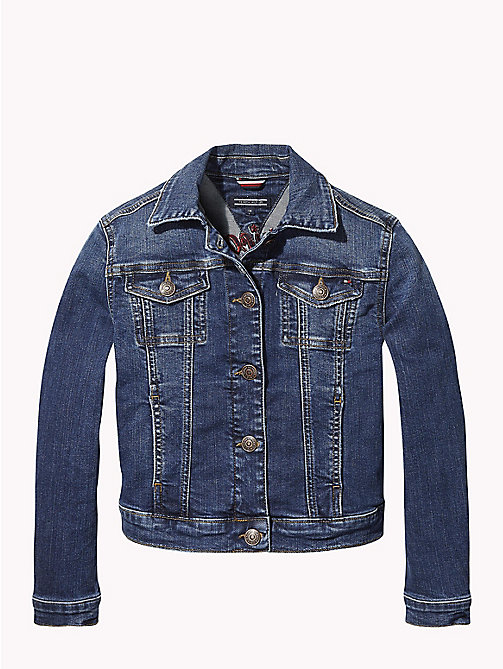 TOMMY HILFIGER American Dreamer Denim Jacket - FOREST MID BLUE STRETCH - TOMMY HILFIGER Coats & Jackets - main image