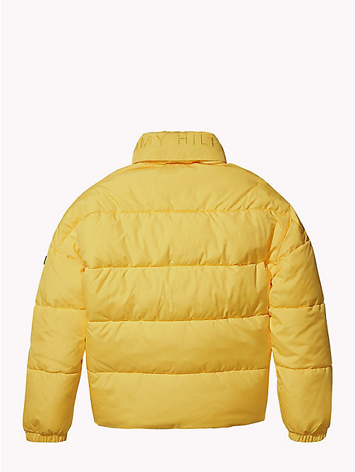 TOMMY HILFIGER Concealed Hood Puffer Jacket - SPECTRA YELLOW - TOMMY HILFIGER Coats & Jackets - detail image 1