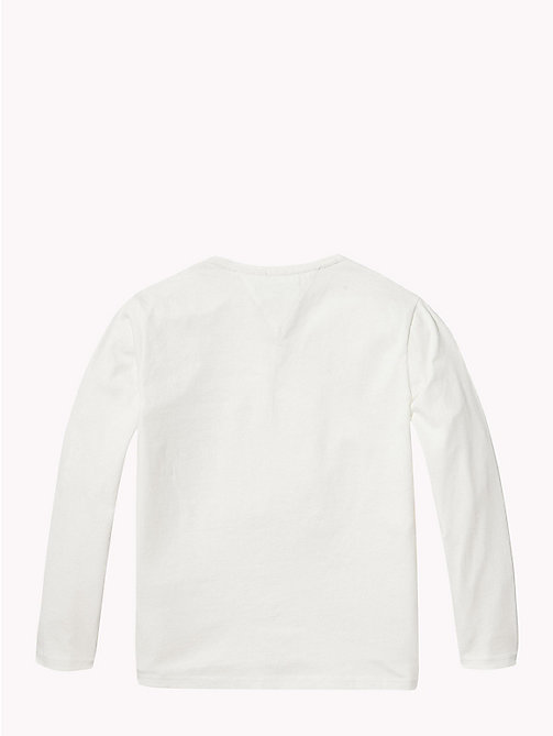 TOMMY HILFIGER NYC Long Sleeve T-Shirt - SNOW WHITE - TOMMY HILFIGER Girls - detail image 1