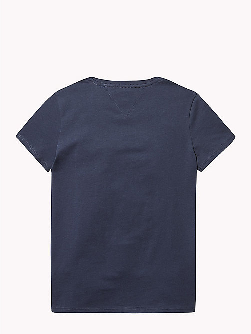 TOMMY HILFIGER NYC Crew Neck T-Shirt - BLACK IRIS - TOMMY HILFIGER Tops & T-shirts - detail image 1
