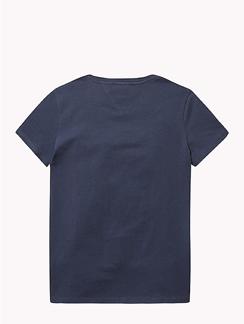 TOMMY HILFIGER NYC Crew Neck T-Shirt - BLACK IRIS - TOMMY HILFIGER Girls - detail image 1