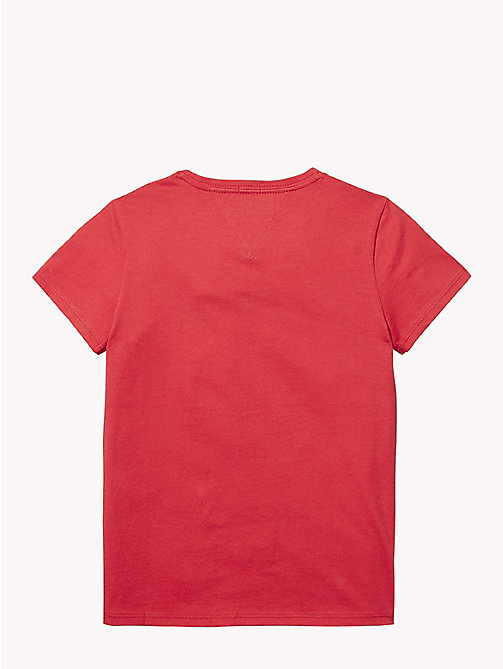 TOMMY HILFIGER NYC Crew Neck T-Shirt - TRUE RED - TOMMY HILFIGER Tops & T-shirts - detail image 1