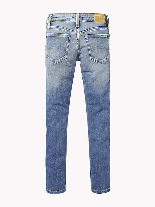 TOMMY HILFIGER Nora Skinny Fit Jeans - AUTHENTIC BLUE STRETCH - TOMMY HILFIGER Girls - detail image 1