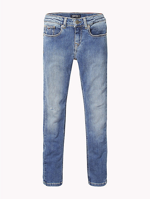 TOMMY HILFIGER Nora Skinny Fit Jeans - AUTHENTIC BLUE STRETCH - TOMMY HILFIGER Girls - main image