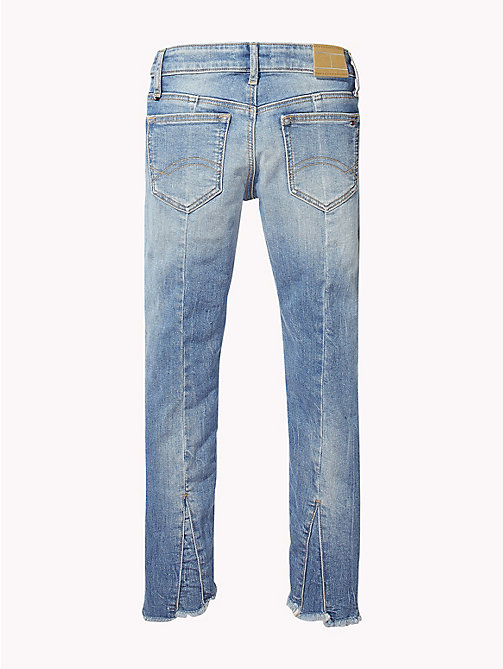 TOMMY HILFIGER Nora Cropped Fit Distressed Jeans - AUTHENTIC SALT LAKE STRETCH - TOMMY HILFIGER Girls - detail image 1