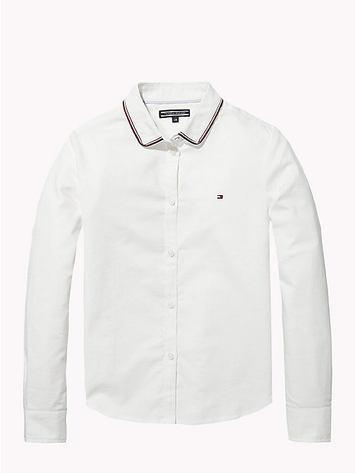 TOMMY HILFIGER Chemise Oxford - BRIGHT WHITE - TOMMY HILFIGER Tops & T-shirts - image principale