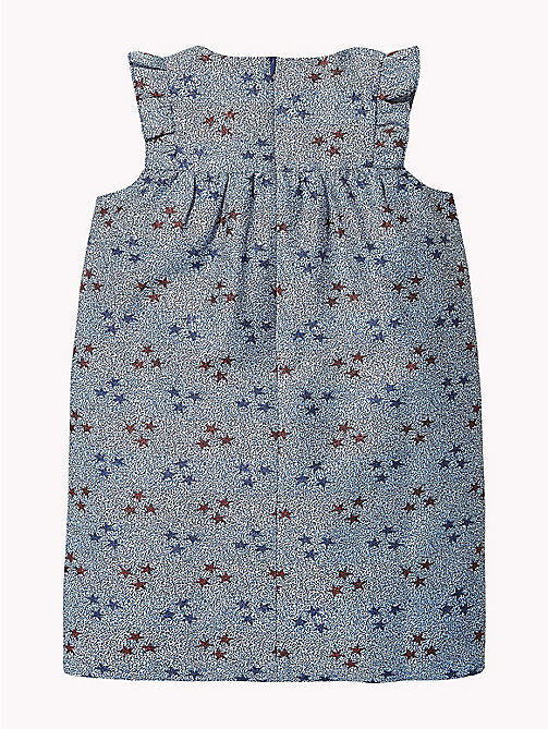 TOMMY HILFIGER Star Print Sleeveless Smock Dress - MAZARINE BLUE / MULTI - TOMMY HILFIGER Girls - detail image 1
