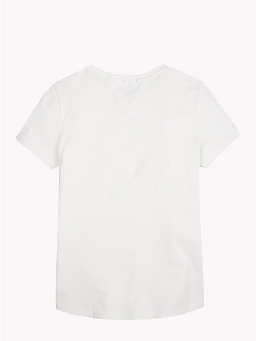 TOMMY HILFIGER T-shirt z logo Tommy Hilfiger - BRIGHT WHITE - TOMMY HILFIGER Topy i T-shirty - detail image 1